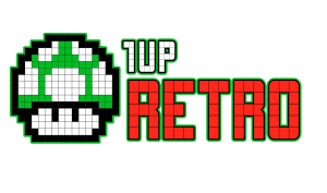 1 Up Retro Official Logo