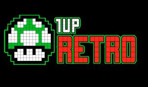 1 Up Retro Official Logo