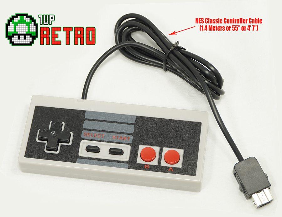 NES Classic Controller 55 inch cord, NES Classic Controllers, Extra NES Classic Edition Controllers, NES Controller Classic Edition