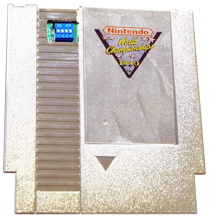Gold Nintendo World Championships Reproduction Cartridge