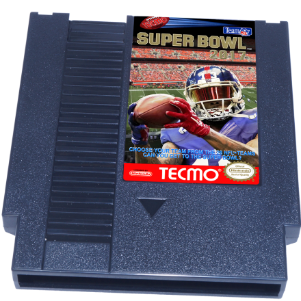 Tecmo Super Bowl 2017, Super Bowl 2017, NES Tecmo Super Bowl 2017