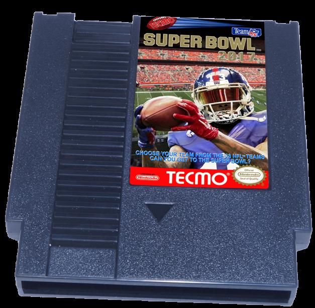 Tecmo Super Bowl 2017, Super Bowl 2017, NES Tecmo Super Bowl 2017