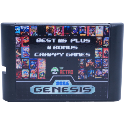 Sega Genesis Multi-cart 126 in 1, Sega Multi-cart, Sega Multi cart, Sega games cart, Sega game multicart