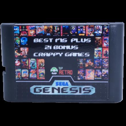 Sega Genesis Multi-cart 196 in 1, Sega Multi-cart, Sega Multi cart, Sega games cart, Sega game multicart