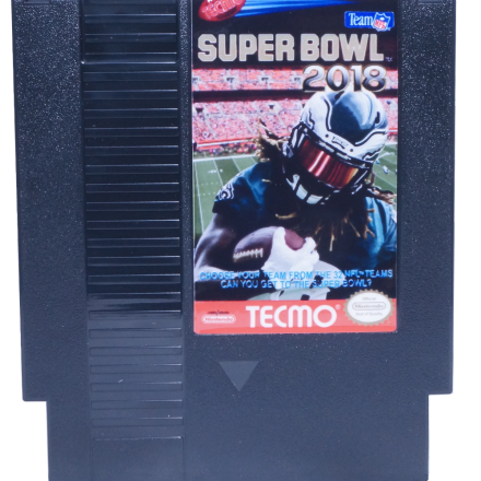 Tecmo Super Bowl 2018, Super Bowl 2018, NES Tecmo Super Bowl 2018