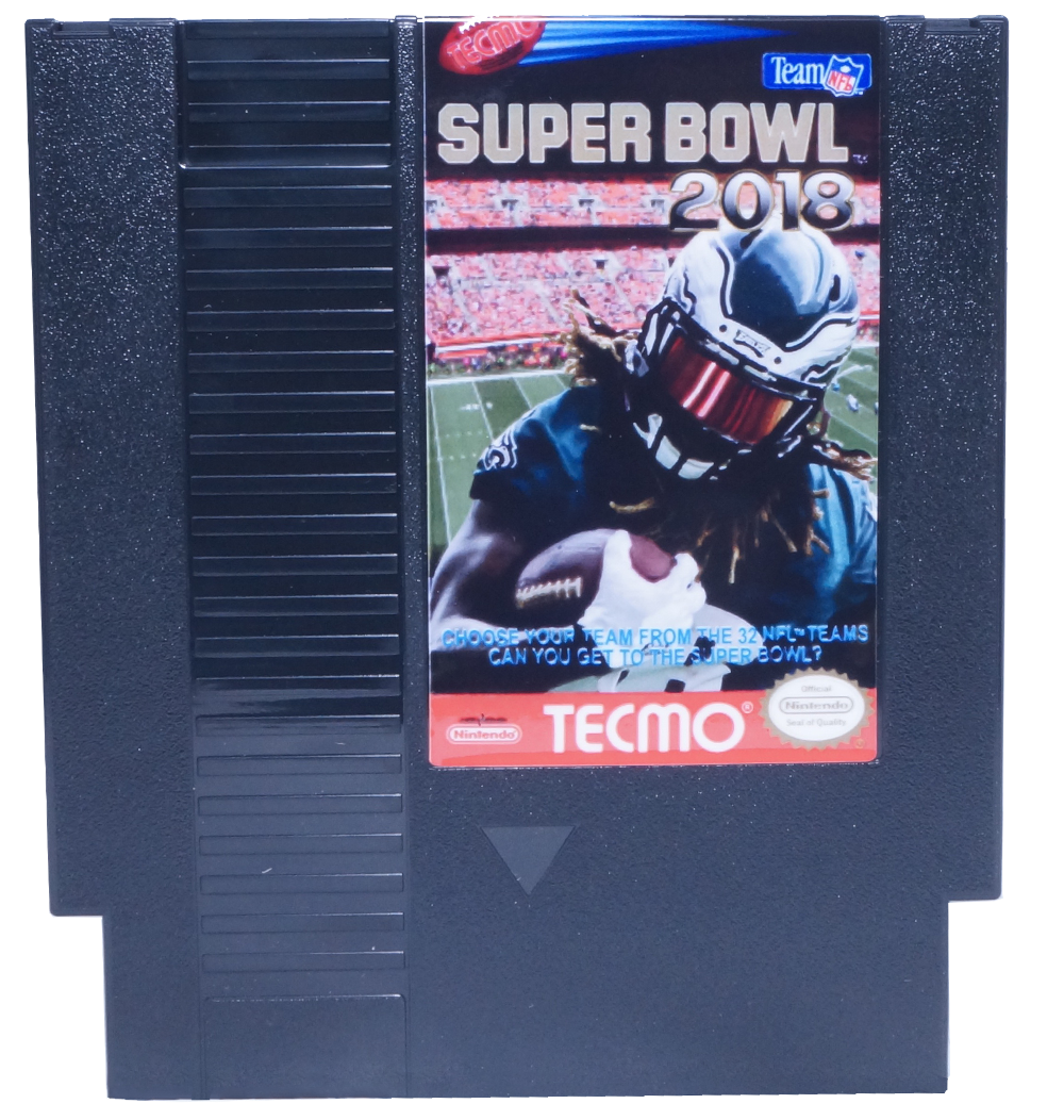 Tecmo Super Bowl 2018, Super Bowl 2018, NES Tecmo Super Bowl 2018